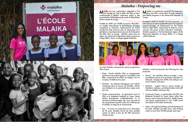 Malaika in Congo Excellence's Inaugural Issue image